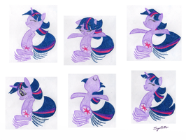 Twilight's Snoopy Dance by SynCallio