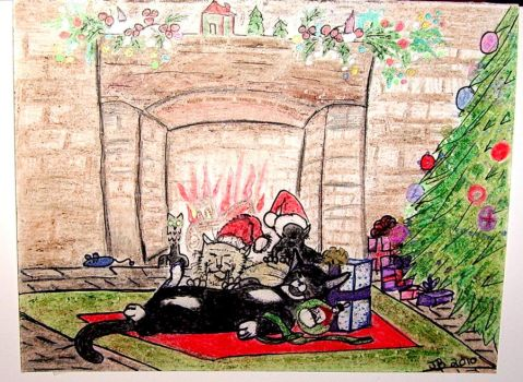Merry Christmas 2010 by QueenZelanda
