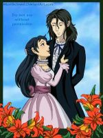 Saya and Haji: Lillies by MBJ by The-Haji-Club