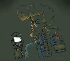 E is for Egon by perishing-twinkie