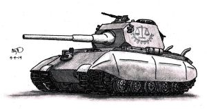 Colossus Super-heavy Tank by TimSlorsky