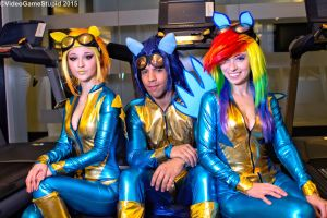 Katsucon 2015 - Wonderbolts(PS) 03 by VideoGameStupid