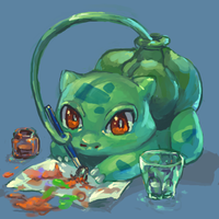 Bulba painting by milkybee
