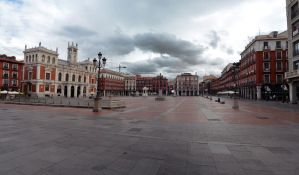 Plaza Mayor of Valladolid - Panorama by Dragon181