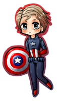 Captain America by MoeMocha