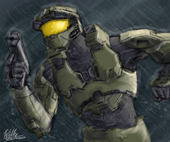 Halo speedpainting lFAILl by Willatorx