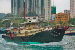 Off to sea in a (nearly) pea-green boat by asiaseen