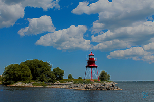Alpena Lighthouse with effects by JJPoatree