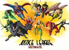 ULTIMATE JLA FIANLE by Martigalaxy