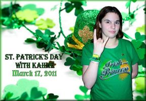 St. Patrick's Day With Kahme by NobodysHeroine1994