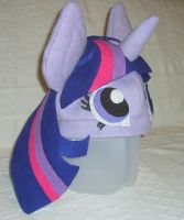 Twilight Sparkle hat - side view by PlumeriaPony