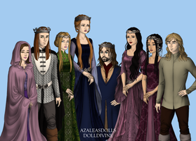 Sansa Stark and Tyrion Lannister's Children by disneyfanart1998