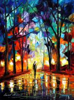 Return of the sun by Leonid Afremov by Leonidafremov