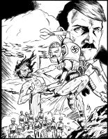 Zombie Jesus Vs Robot Hitler by Tollbooth10