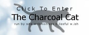 The Charcoal Cat - Enter by ClearBlueSkys
