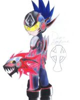 Demon Rockman by thecucuyo