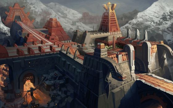 'ancient'  temple by molybdenumgp03