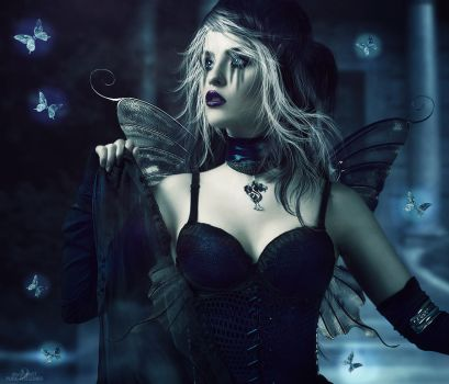 .: Gothic Fairy :. by Pure-Poison89