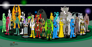 The Great Old Ones and Outer Gods of Mythos(Redux) by DragonSnake9989