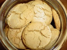 Soft Molasses Cookies by ArielManx