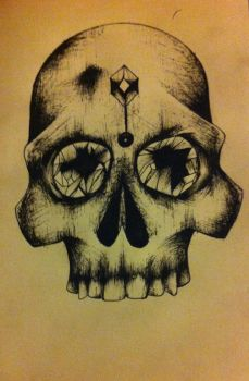 Now you know I only draw skulls by emmanuel-the-manual
