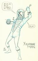 20 - Xylophone Man by DBed