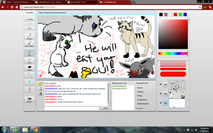 iScribble Epicalness by sky-lover10