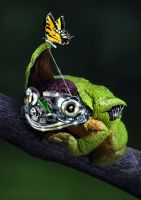 Robotic Frog by AnthonyHearsey