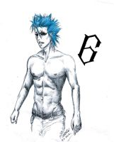 Grimmjow Fanservice by AKFid