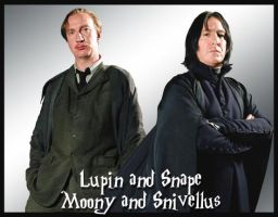 Snape and Lupin by Therapist-in-a-Box