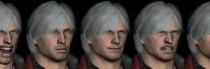 Dante Faces by sidneymadmax