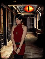 Ada Wong - Evil is Watching by Rejiclad