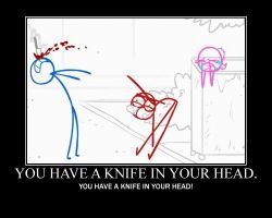 Knife on your head by htfman114
