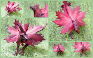 Small red-violet maple dragon by murosvur