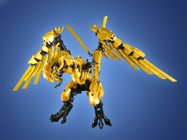 Ninjago Golden Dragon 2 by retinence
