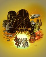Star Wars -- Color by artzrevolution