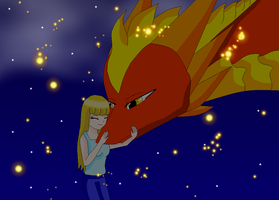 Me and Fireo by HeroHeart001