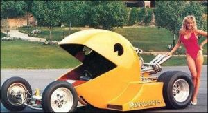 PAC-MAN car by daz1200