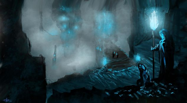 The Cave by AlphaWubWolf