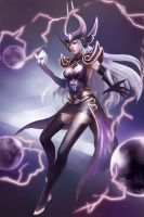 Syndra(League of Legends) by sade75311