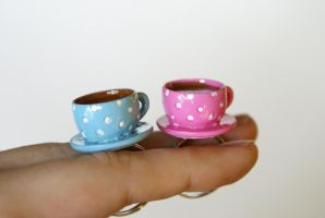 Cute Teacup Rings by MonsterBrandCrafts
