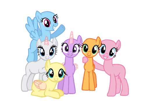 MLP Base: Let the rainbow remind you by Cookie-Bases