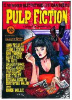 Pulp Fiction - Poster by intothewild142