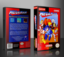 Mega Man Custom Cover by TuxedoMoroboshi