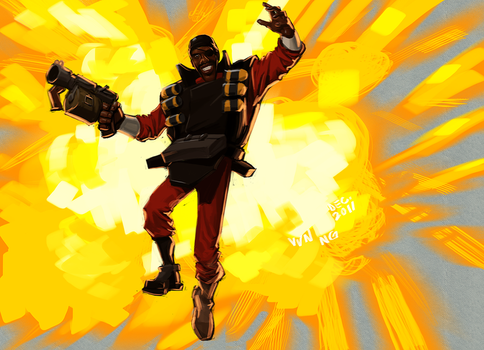 I am an awful demoman but by Doodle-Master