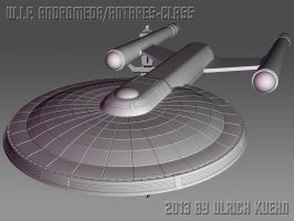 W.I.P. ANDROMEDA/ANTARES-CLASS by ulimann644