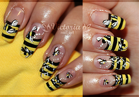 Nail art 106 by ChocolateBlood