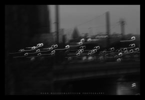 A City In Mono VIII. by FaiblesseDesSens