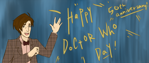 Doctor Who: 49th Anniversary by LuffYu