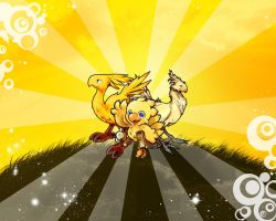 Chocobo Wallpaper 1 by chinochocobo